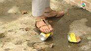 Fala's toe