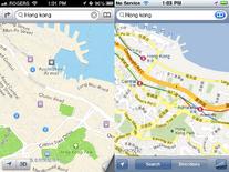 IOS6map vs Googlemap