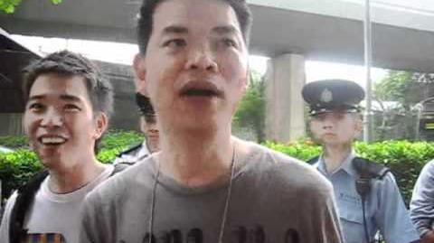網民開香檳被拘捕事件