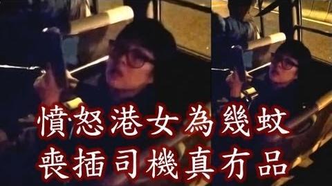 2013年港女辱罵小巴司機事件