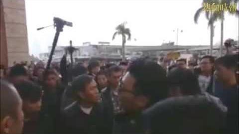【2014-12-14 譴責警方暴力遊行】便衣警員:警訊太膚淺