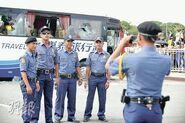 Pil Police take photo b4coach