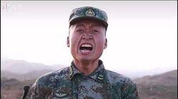 军事亮剑 解放军班长匕首刺杀术演示,光表情就足以吓退美军