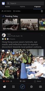 逃犯條例 Reddit-1post
