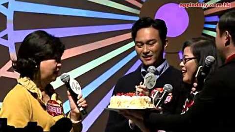 【唱錯生日歌送錯cake】 朱咪咪驚恐:點解今日變咗我生日?
