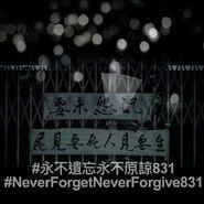 2020年8月31日毋忘831 • 悼念行動文宣