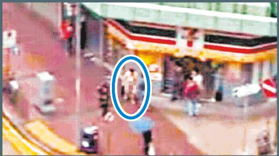 旺角債仔懷疑被脅迫全裸遊街事件