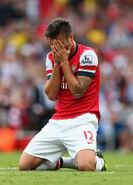 Olivier Giroud Arsenal v Tottenham Hotspur tvDxeZp8PHml