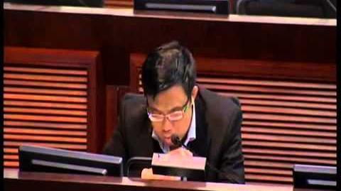 2012 10 19 財委會 涂謹申 阻止葉國謙限制議員發言內容
