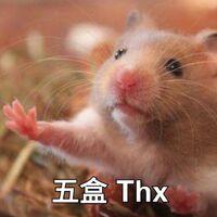 2盒 thx(倉鼠5)