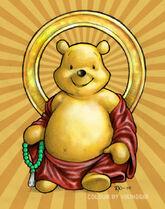 Buddha Pooh Colours by vikinggib