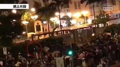 誰人玩炮仗? 黃大仙紀律部隊宿舍外有人燃點懷疑炮仗 香港電台 黃大仙