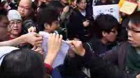 網民遊行抗議香港警方於藝人淫照事件上選擇性執法@hkgolden.com