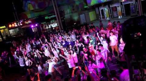 PSY Gangnam Style Flashmob HONG KONG 江南Style 快閃 香港 山頂