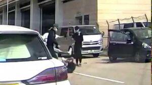 【車cam直擊】鄺議員被襲過程!立法會議員鄺俊宇 遭三兇徒襲擊 受傷入醫院!