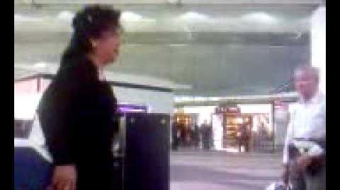 Chep Lap Kok-ed Up Terminal Wei Ling Mix - crazy woman misses her flight