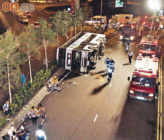 2009年將軍澳巴士翻車意外事件