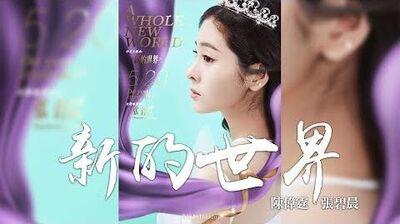 張碧晨 陳偉霆 -《新的世界》(電影阿拉丁中文版主题曲)|CC歌詞字幕