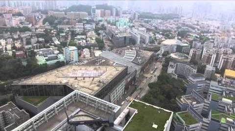 Hong Kong Aerial Video 航拍- City University of Hong Kong 香港城市大學