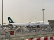 Cathay Pacific Cargo plane 22-06-2021