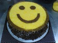 Smile cake 01