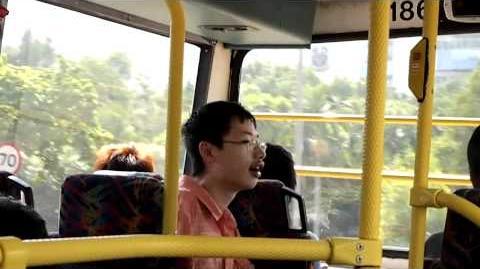 經典交通迷制服男被巴士迷群欺凌(城巴186遊河 - 外傳)