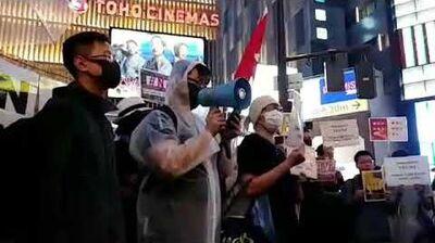 【反送中】部分港人到日本大阪突破封鎖成功集會請願 促G20峰會關注香港現狀施壓北京停止破壞一國兩制(2)