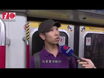 有人在多個港鐵站發起不合作運動_有人不滿上班受阻_用滅火筒噴向數名戴口罩的人_-_有線新聞_i-CABLE_News