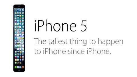 The iPhone 5 (Parody) Ad A Taller Change