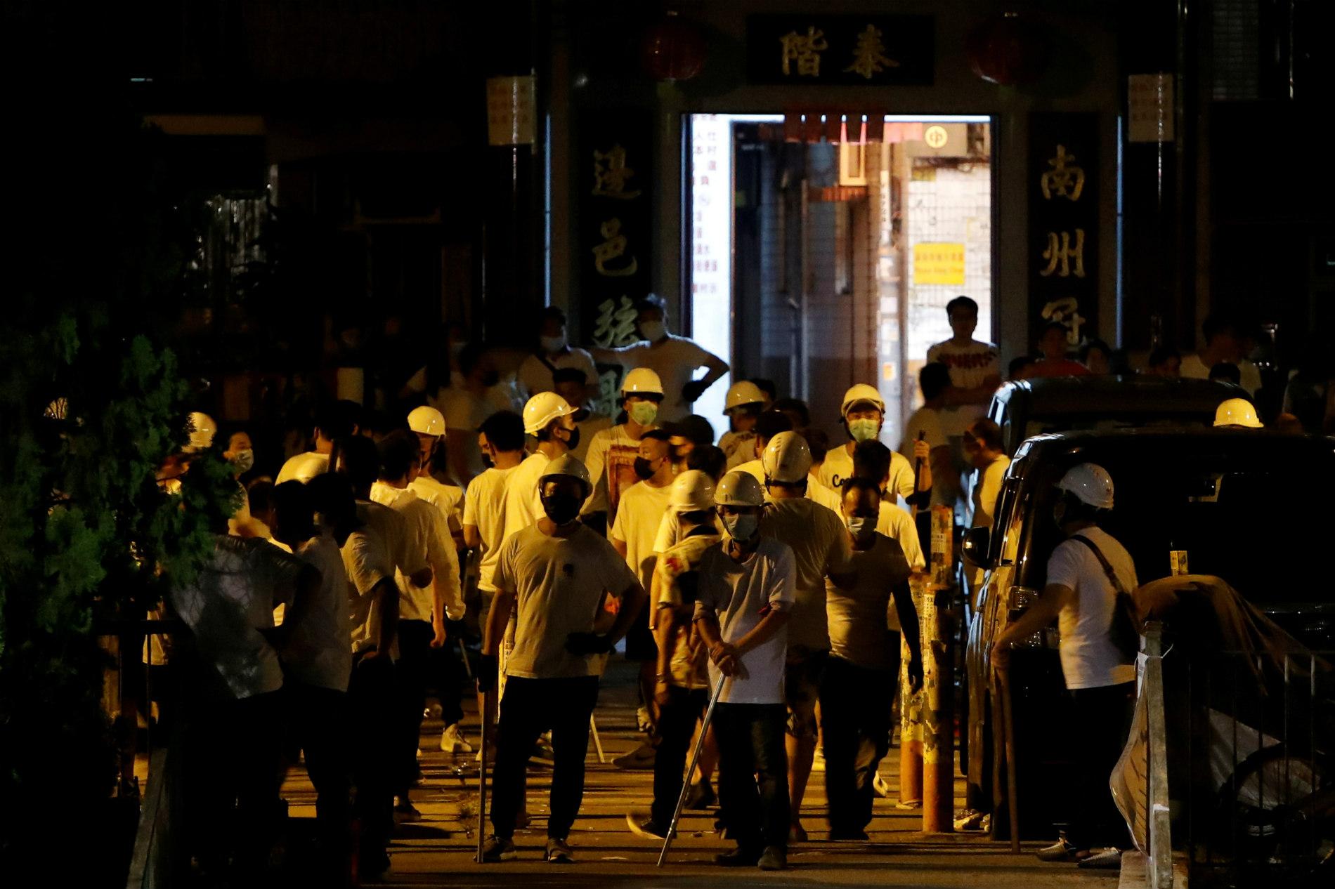 《逃犯條例》修訂風波之7月21日大遊行及元朗襲擊事件