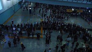 逃犯條例 812airport blackoutrumor
