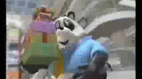 關鍵旅遊之卡通熊貓篇