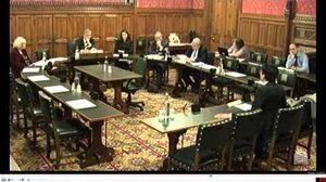 吳文遠出席英國外交事務委員會聽證會