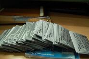 Piles of coupon