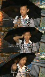 Black rainstorm student eng