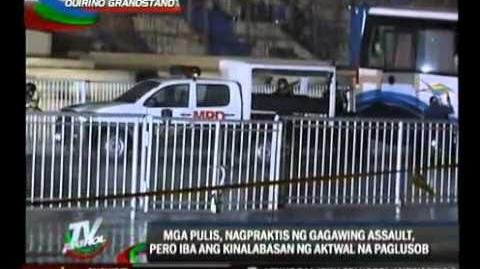 Philippine SWAT Rehearsal
