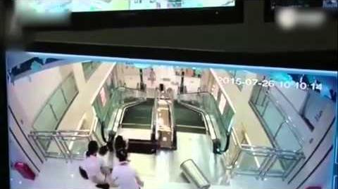 2015年大陸「食人電梯」慘劇