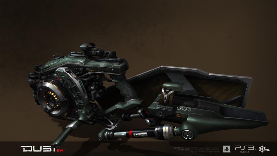 Gallente CRG-3 Plasma Shotgun