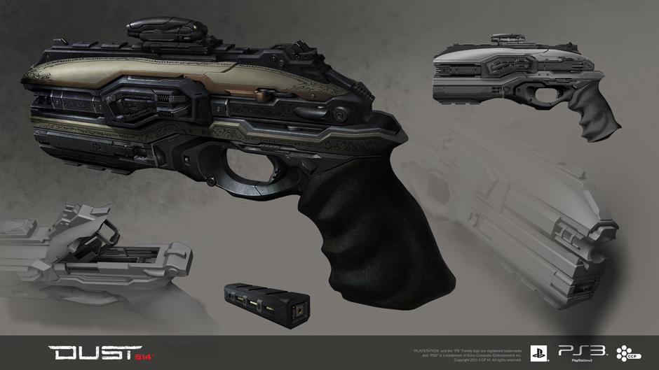 Amarr CAR-9 Scrambler Pistol
