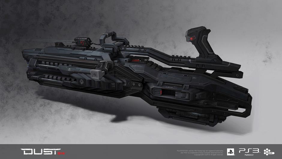 Caldari DCMA S-2 Forge Gun