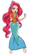 Book art - Meeshell Mermaid
