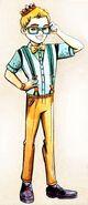 Profile art Humphrey Dumpty
