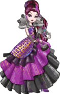 Profle art- Raven Queen La Fiesta de Coronación