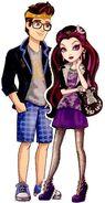 Profile art - Raven y Dexter Noche de Cita