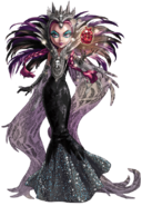 Profile art - Raven Queen Malvada