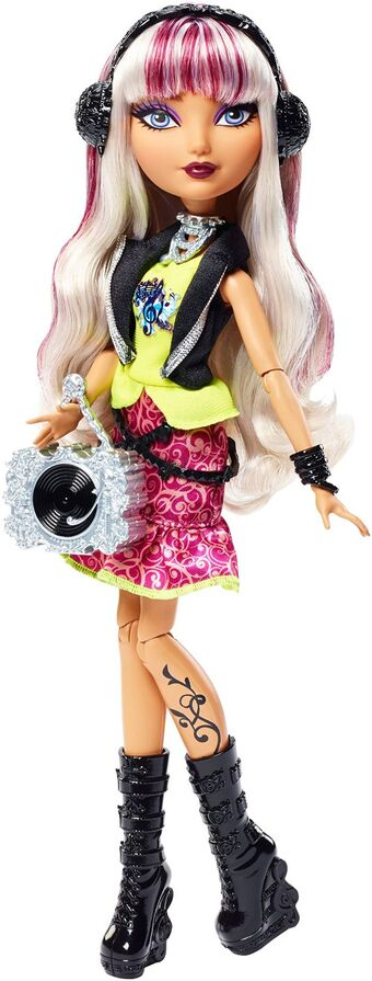 EVER AFTER HIGH 1ST ORIGINAL MELODY PIPER DOLL TURNTABLE RECORD PURSE ONLY