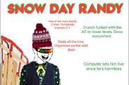 Snow Day Randy
