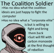 The Coalition Soldier