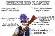 Grizzled Randy