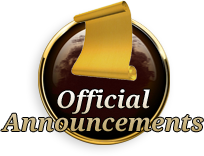Official Announcements